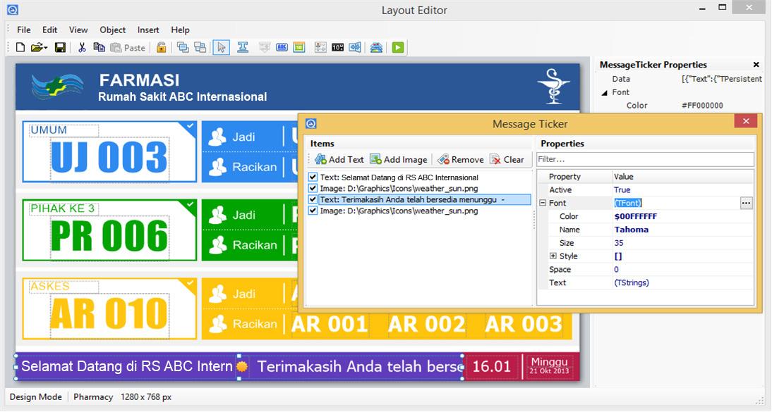 Layout Editor 1